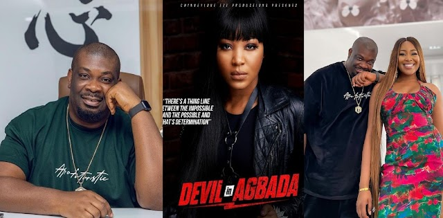 """'You Killed It' – Don Jazzy Reacts After Watching Erica's New Movie """"Devil In Agbada"""""""