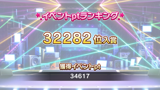 32282位 34617pt