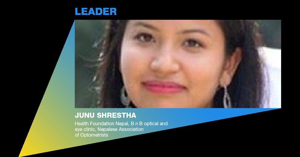 Eye Health Hero: Junu Shrestha