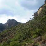 Looking west towards the Landslide (12200)