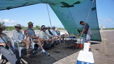 Photo: Chuy makes lunch at Playa Tambobiche