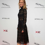 WWW.ENTSIMAGES.COM -     Eva Herzigova  arriving     at       Jaguar XE - World premiere and  Global launch party at Earls Court Exhibition Centre, London September 8th 2014Jaguar premieres its new Jaguar XE car to press and VIPs                                               Photo Mobis Photos/OIC 0203 174 1069