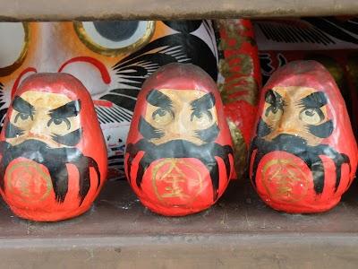 達磨寺のだるま