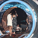 JOIC - ENTSIMAGES.COM - Emma Willis and Jade-Martina Lynch at the Big Brother 2015 - Eight Live  eviction London June 19th 2015  Photo Mobis Photos/OIC 0203 174 1069