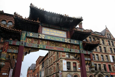 Chinatown in Manchester England