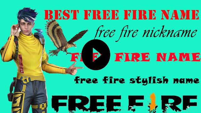 Free Fire Name