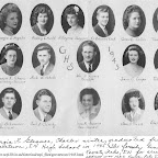 Georgia Loraine Gleaves Daughter of Rooky Knox Gleaves 1945 Graduation Class