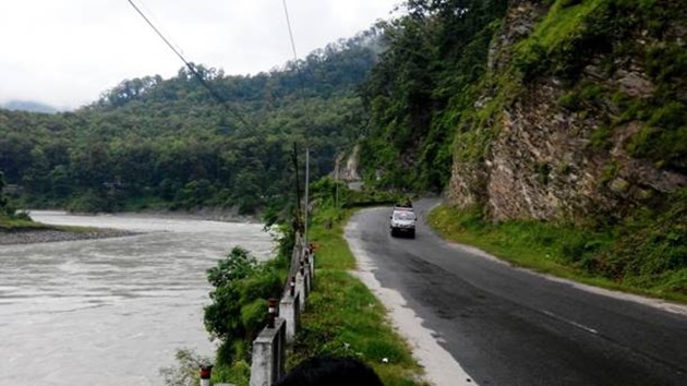 Teesta-Gangtok Road