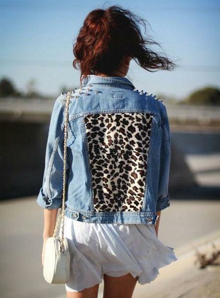Inspiração: oncinha - jaqueta