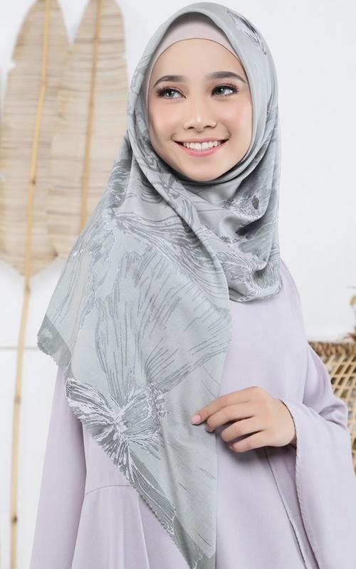 Hijab Khimar Segi Empat