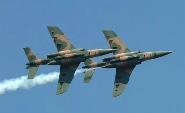 Nigerian Air Force's alpha-jet goes missing