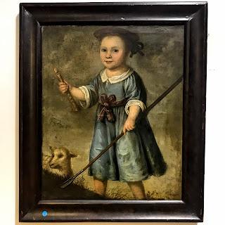 Dutch Oil Portrait Painting