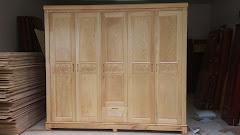 Tủ quần áo gỗ MS-171 (Còn hàng)