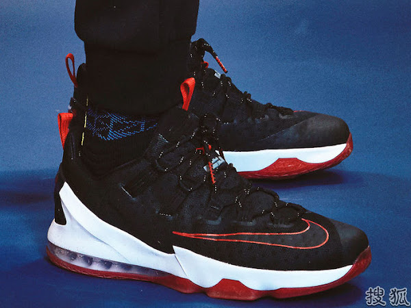 First Decent Look at Nike LeBron 13 Low Bred