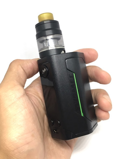 thumb4 - 【Wismec】Reuleaux RX GEN3 with GNOME レビュー。最大出力300wの小型軽量モンスターMOD!!