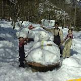 雪キャンプの様子