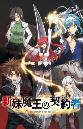 Shinmai Maou no Testament 11/12 [HD+ligero][Sub Esp]