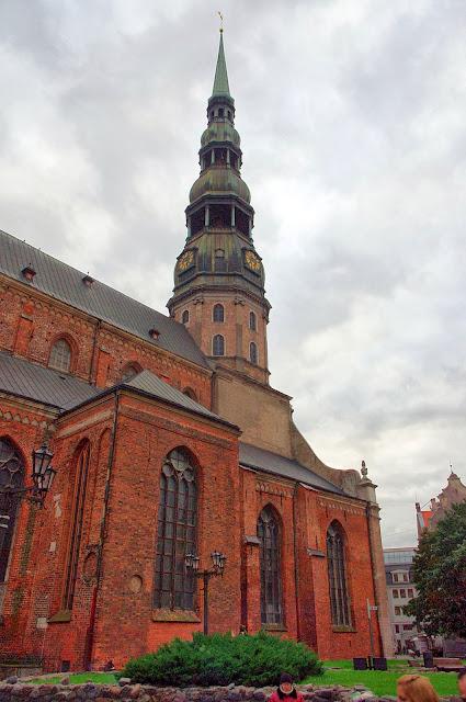 Qué ver en Riga. Iglesia de San Pedro, Riga
