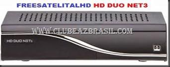 ATUALIZAÇÃO FREESATELITAL HD DUO NET 3