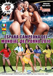 Espana Campeona del Mundial del Porno 2010