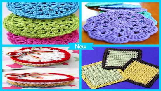 Easy Crochet Coaster Patterns Apps On Google Play