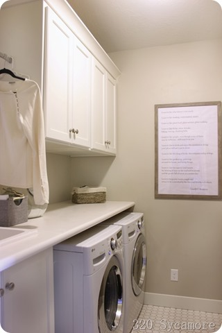 laundry room simple