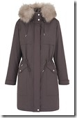 Whistles Grey Casual Parka
