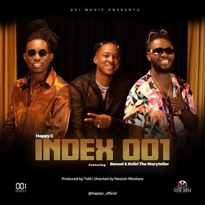 AUDIO: Happy C Ft. Bensoul & Nviiri – Index 001   Download