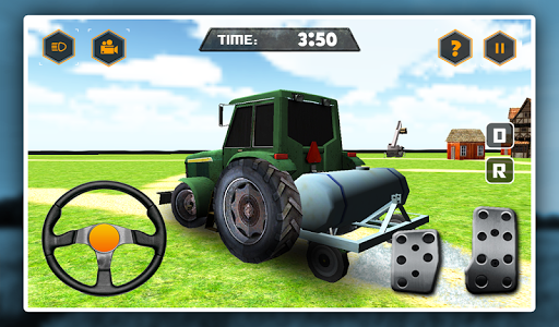 Hay Farm Truck Driver Logs 3D game (apk) free download for Android/PC/Windows screenshot