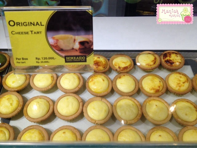 maniak-makan-hokkaido-baked-cheese-tart-original-flavour