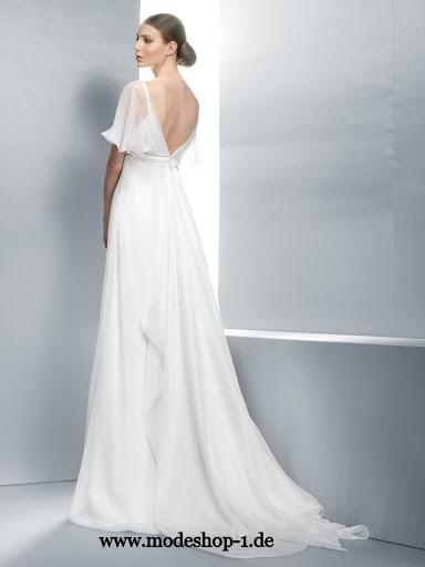 Braut mode brautkleid a line kollektion exclusive 36 38 40 42 44