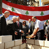 Groundbreaking ceremony of AUBMC's Academic Clinical Center under Patronage of President Michel Sleiman