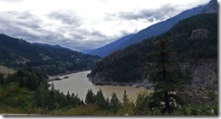 Fraser River below Lytton BC, Trans-Canada Highway