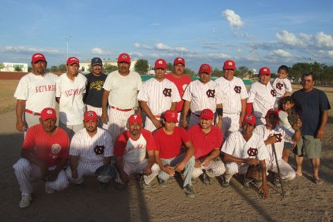 Equipo CNC del torneo sabatino de softbol