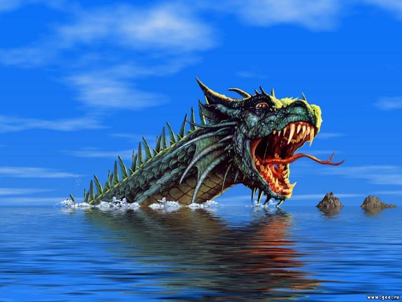 Water Dragon, Dragons