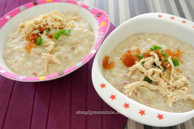 chicken congee recipe