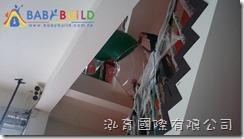 BabyBuild 隧道旋轉滑梯施工組裝