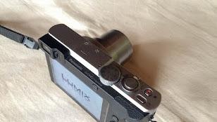 レンズが引っ込まないLUMIX TZ70