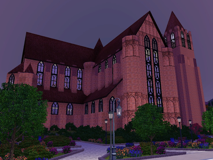 sims3 catedral