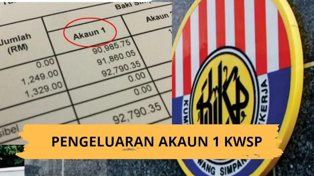 status terbaru pengeluaran Akaun 1 KWSP