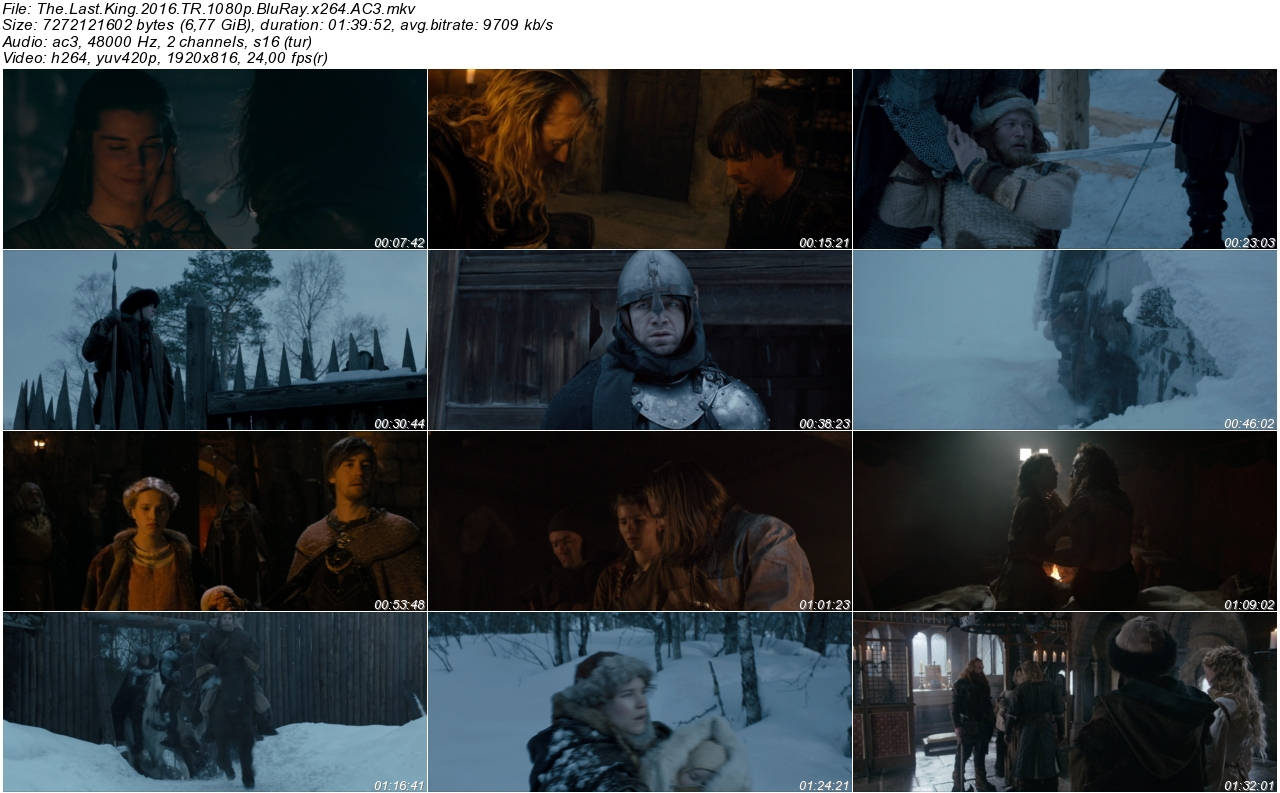 The Last King 2016 - 1080p 720p 480p - Türkçe Dublaj Tek Link indir