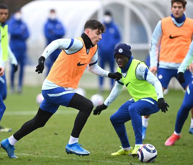 Kai Havertz admits he is dreading facing Chelsea team-mate N'Golo Kante