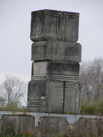 Ancient     (?) monuments