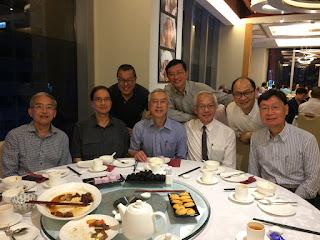 梁宗岳「再次」回來香港,適值陳耀德也在香港, 2016年7月5日在灣仔留家廚房和同學吃「地道小菜」。