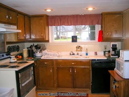 4 phòng bếp tuyệt đẹp chỉ nhờ thay đổi màu sơn-1