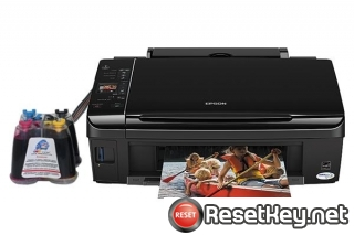 Reset Epson TX219 printer Waste Ink Pads Counter