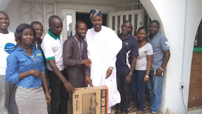 Hon Adewale Omofaiye The First Assembly Member To Visit Kogi Youth House: Comr. Oladele John Nihi.