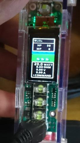 """DSC 4162 thumb%255B2%255D - 【MOD/DNA75C】「HOWIT AC MOD」(ハウイット・エーシーモッド)レビュー。Evolv DNA75カラー基盤搭載Modder""""Eucaly""""氏製MOD!はじめてのでぃーえぬえーからー。ド〇クエ風テーマ!?【電子タバコ/VAPE】"""