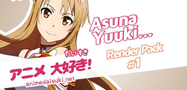 Anime Render Asuna Yuuki