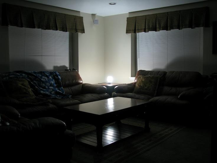 Goal Zero LAL (light-a-life) 3W LED lantern sitting up side down 12v